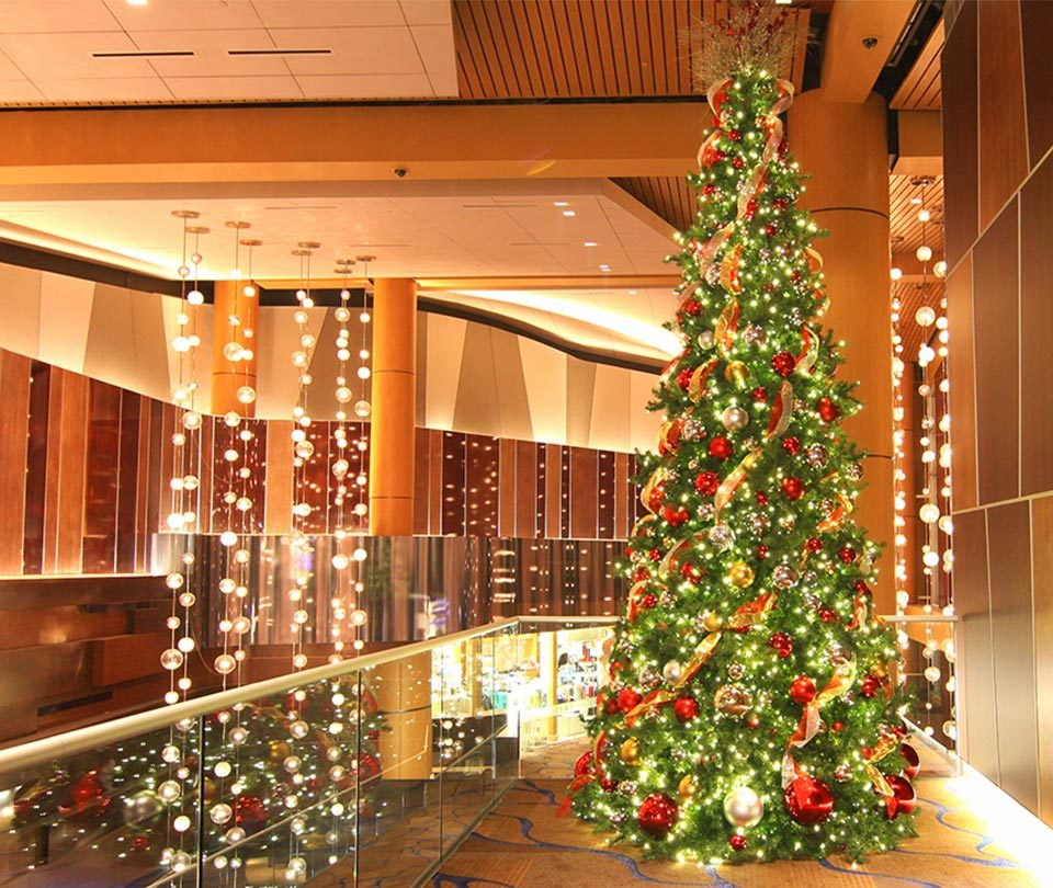 Christmas Decorations for Casino