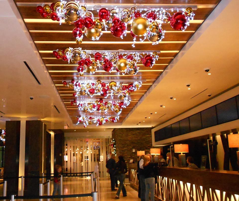 Casino and Resort Holiday DecorPrograms